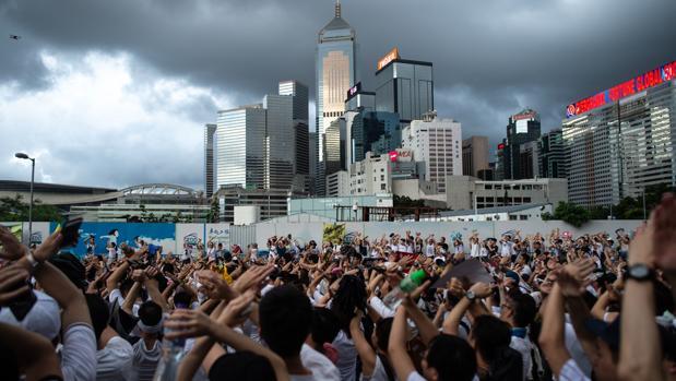 Un millón de personas protestan en Hong Kong contra la ley de extradición a China