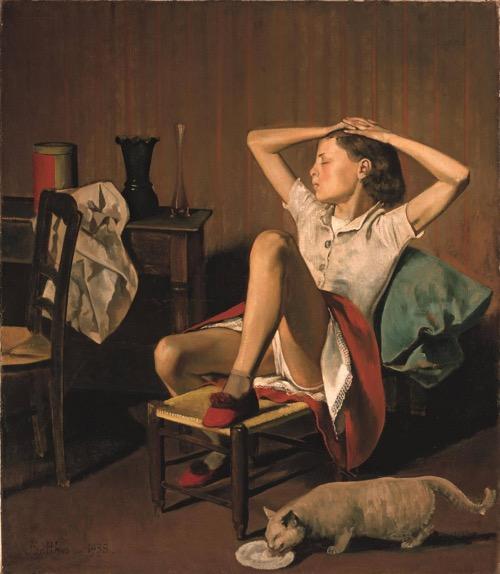 El Met rechaza retirar un cuadro de Balthus en el que aparece una joven en posición sugestiva