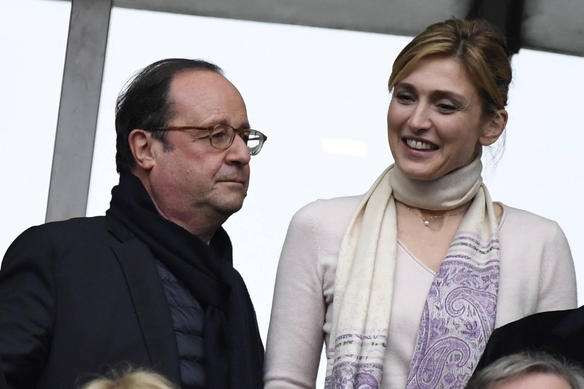 François Hollande y Julie Gayet ya no se esconden