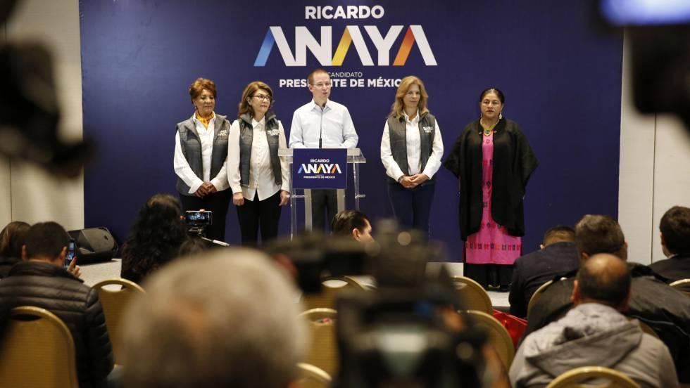 La élite empresarial mexicana cierra filas con Anaya para frenar a ...