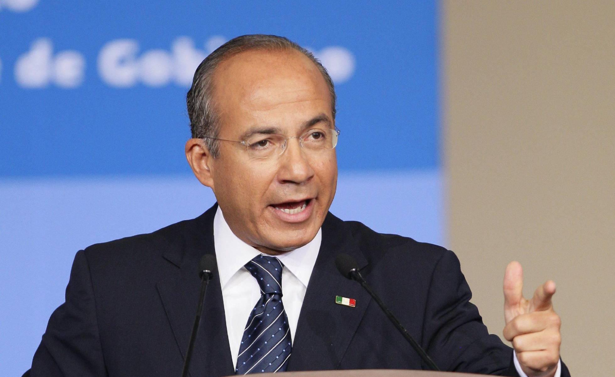 El expresidente mexicano Felipe Calderón renuncia al Partido Acción Nacional