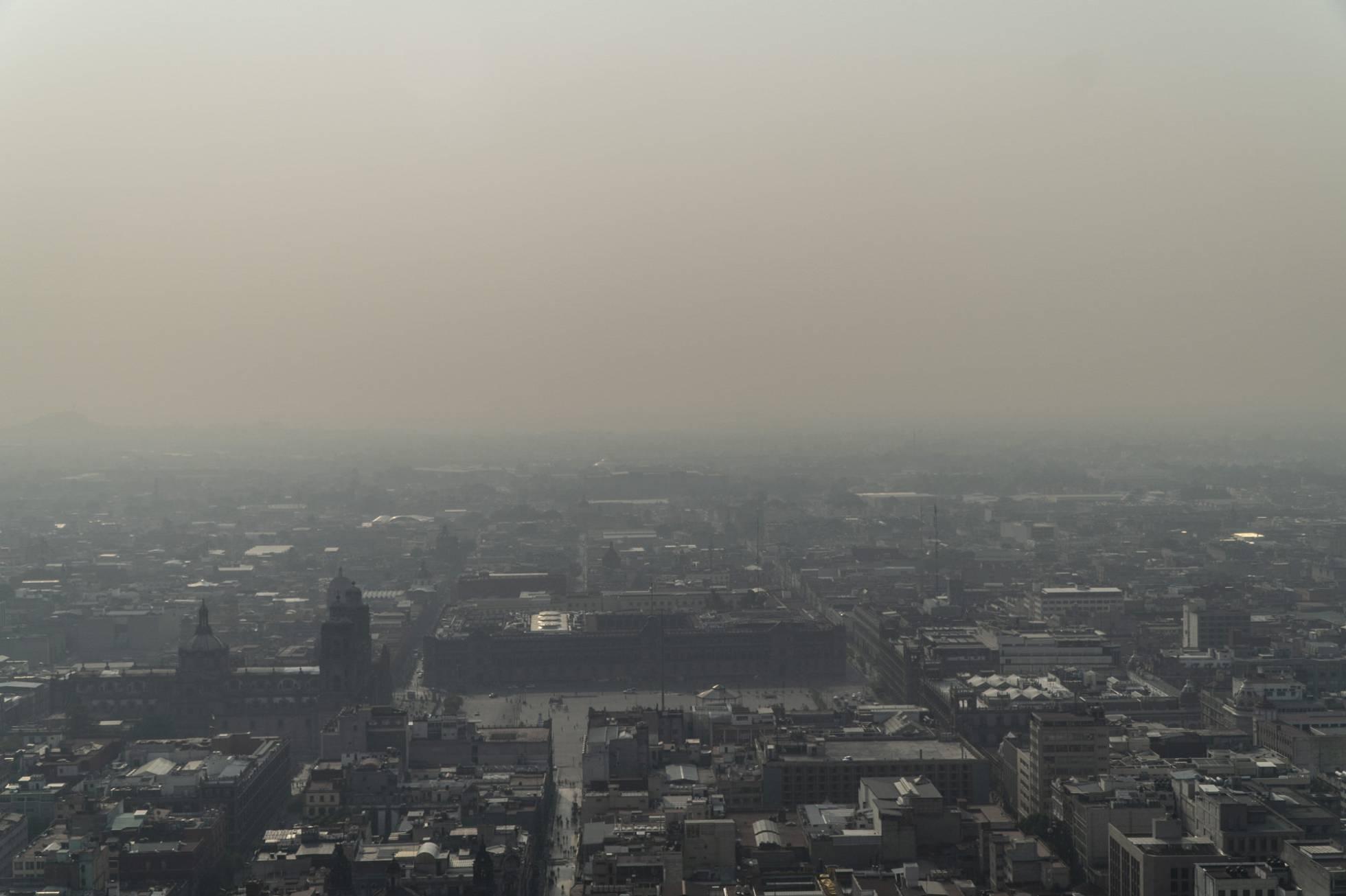 Ciudad de México se vuelve irrespirable por cuarto día consecutivo