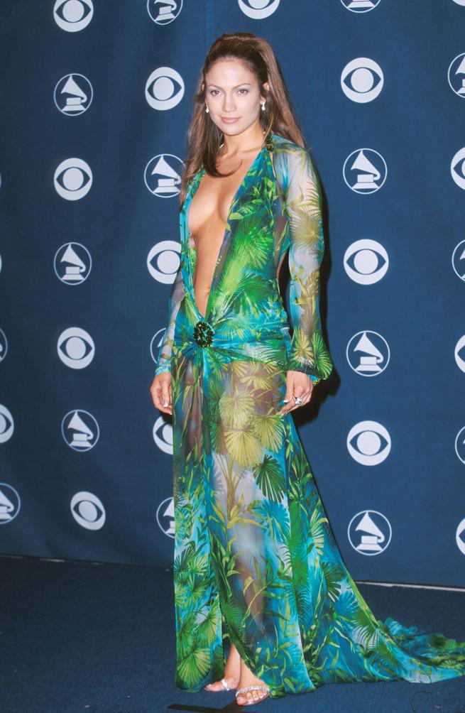 La noche en que el Versace verde de Jennifer Lopez cambió el mundo