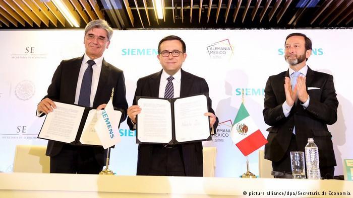 Siemens invertirá 200 millones de dólares en México