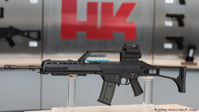 Condenan a fabricante de armas alemán a pagar multa por venta ilegal de armas a México