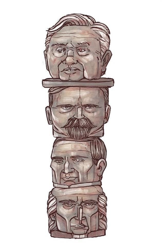 El idilio de AMLO con la Historia