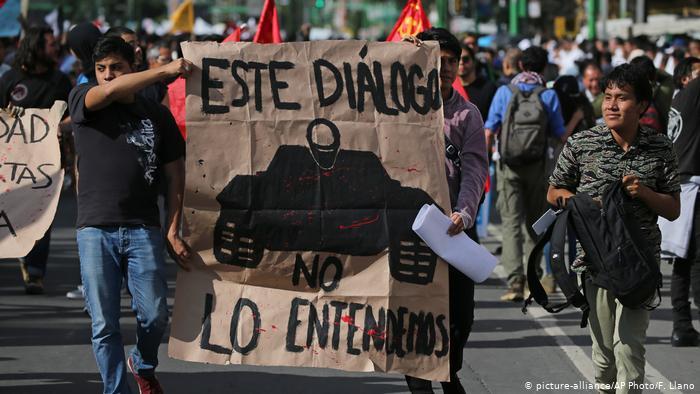 México: miles de personas recuerdan la matanza de Tlatelolco