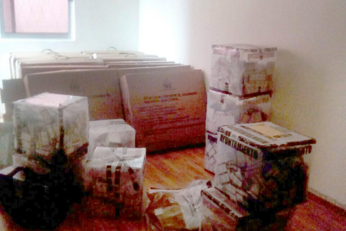 IEE retiene pruebas de irregularidades electorales; son boletas que se robaron en Xilotzingo