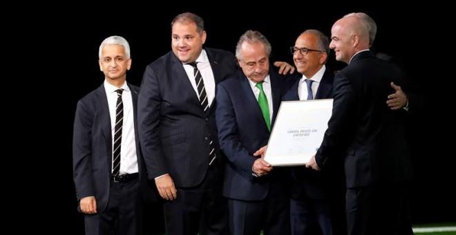 M�xico, Canad� y Estados Unidos organizar�n el Mundial de f�tbol de 2026