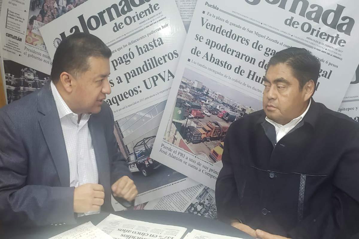 Anuncia Barbosa Huerta iniciativa para imponer órgano de control interno a la UAP