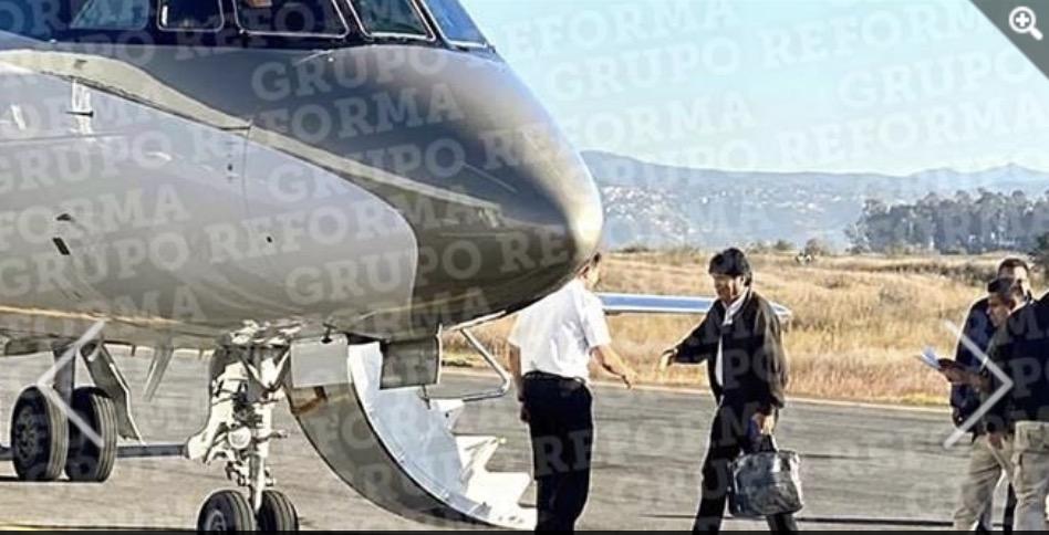 Evo Morales viaja a Cuba