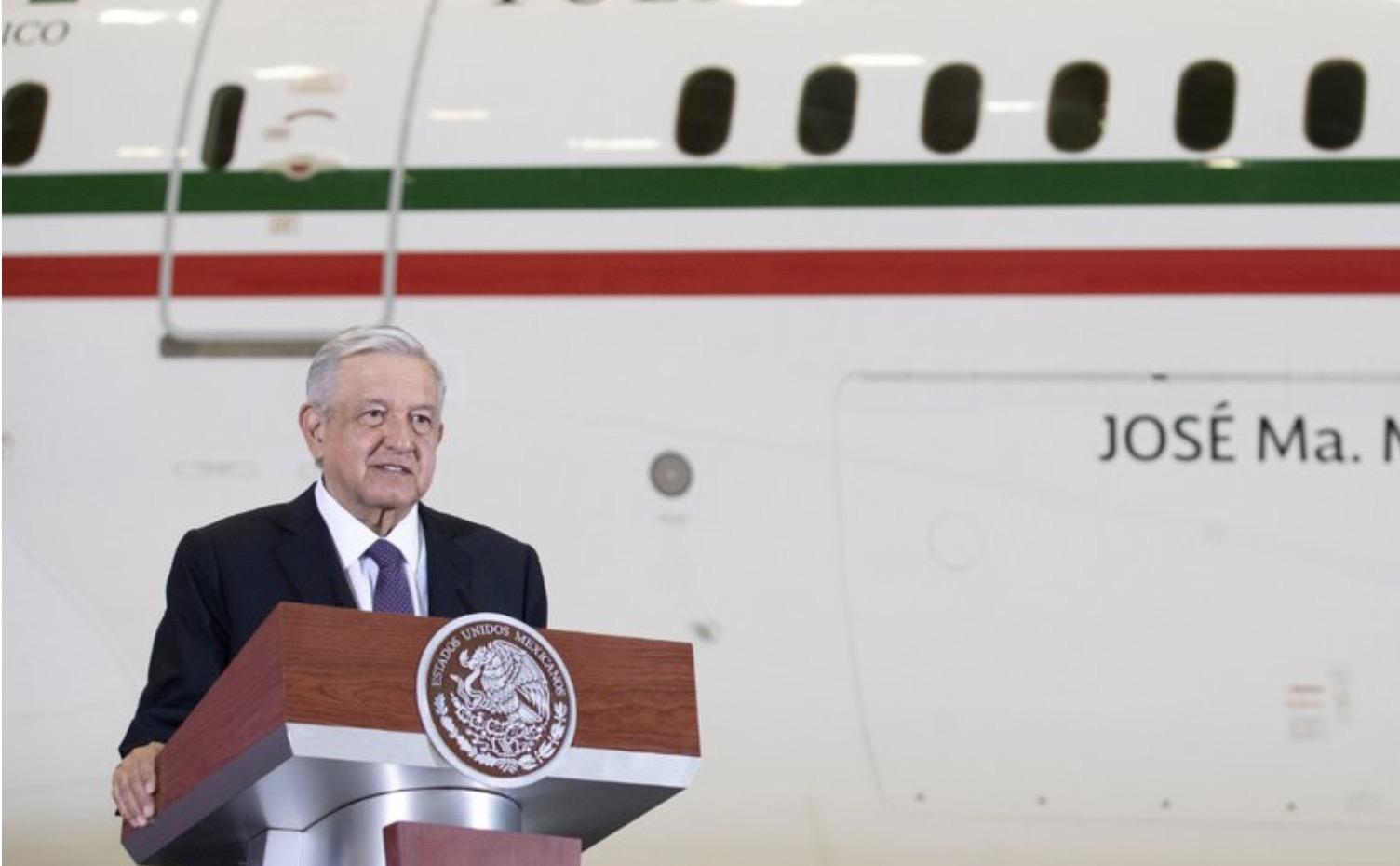 Ante caída de México, AMLO desvía atención a avión presidencial