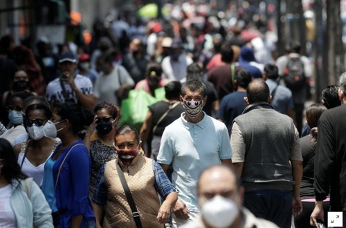 Economía de México sufre contracción histórica de 17.3% en segundo trimestre