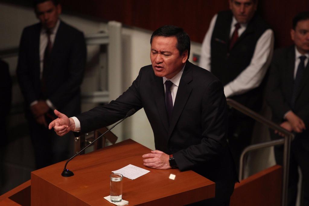 """""""Muy peligrosa"""", la propuesta de amnistía: Osorio Chong"""