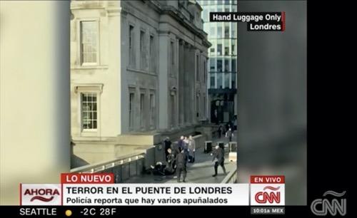 Abaten al sospechoso del incidente del Puente de Londres