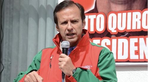"""""""Con el informe final de la OEA, México tendrá que evaluar si va a seguir asilando y protegiendo el fraude"""", Quiroga"""