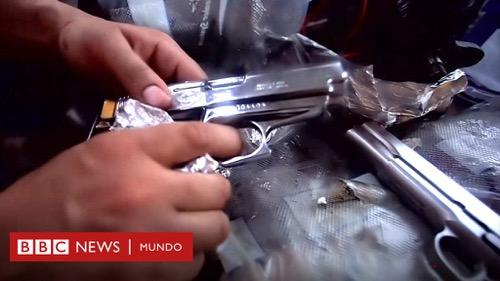 Drogas por armas entre México y Estados Unidos