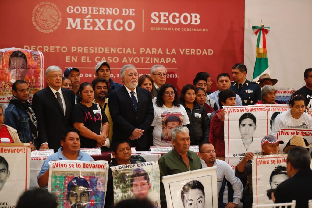 Se conocerá toda la verdad sobre Ayotzinapa: AMLO
