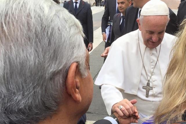 Equipo de AMLO invita al Papa a consulta para la paz en M�xico