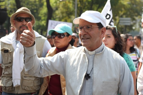 """Solalinde: """"Queremos un México nuevo"""""""