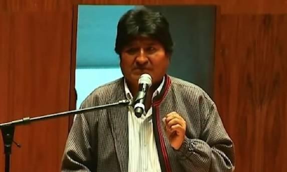 Evo Morales, abucheado durante una conferencia en México