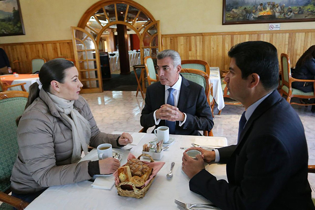 Reunión de Gali con Alonso y Rivera enciende a PRI y Morena