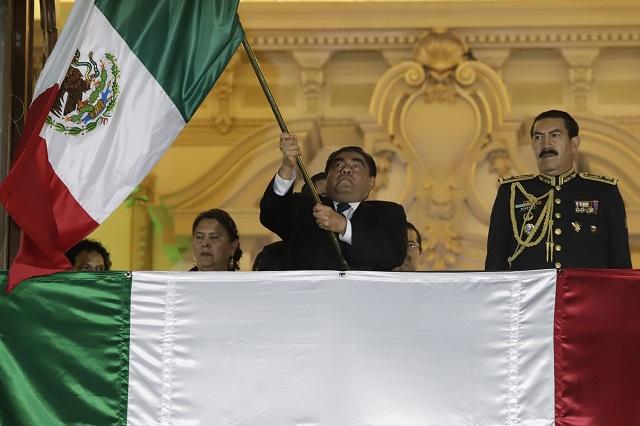 Cita Barbosa a héroes de la 4T en su primer Grito de Independencia