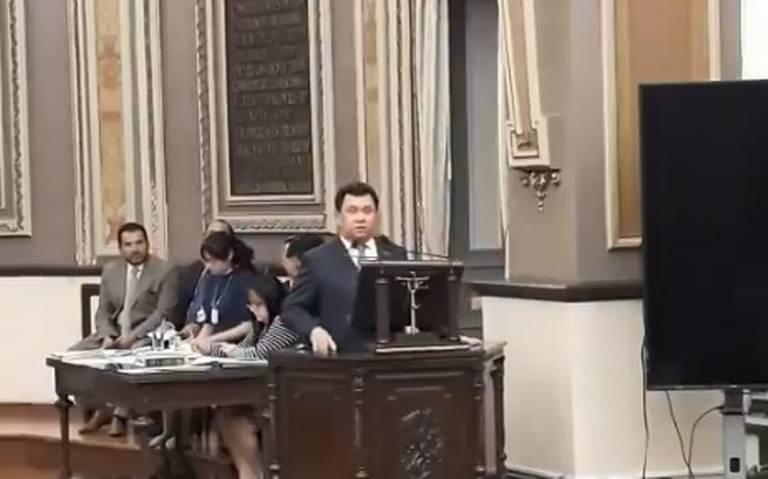 Diputados cierran filas y presentan quejas contra Héctor Alonso por misoginia