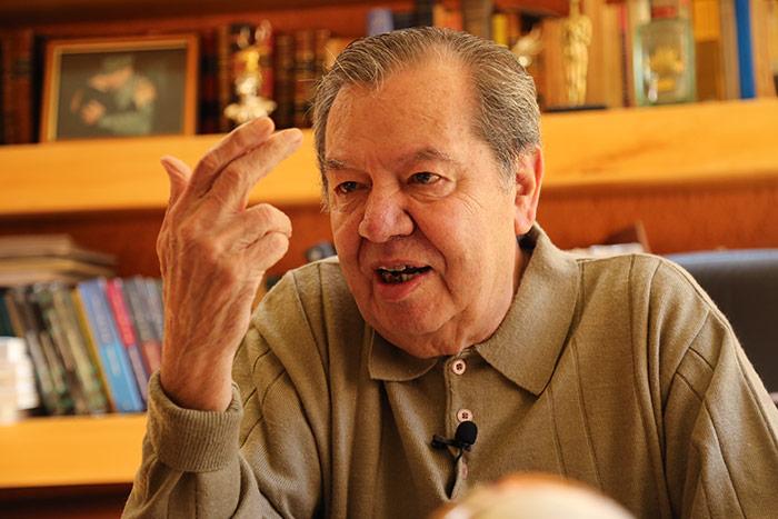 Muñoz Ledo: Poner en duda el triunfo de AMLO, con 20 puntos arriba, sería escándalo mundial