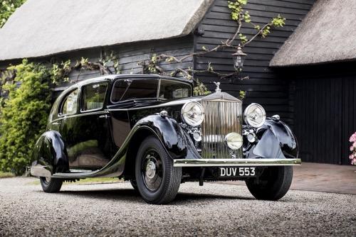 Si tienes una guerra que ganar, mejor hacerlo en un Rolls Royce
