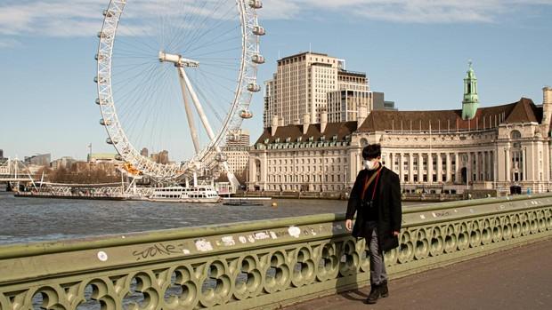 Londres se queda vacía por el coronavirus