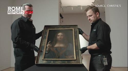 El otro Leonardo da Vinci que un Papa compró en una subasta